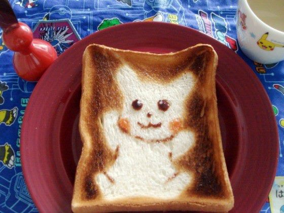 Pikachu toast! by ZairoNishijima