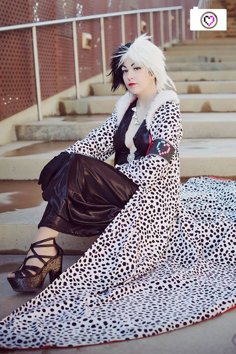 Cruella-- Cloaked by Miss-Marquin