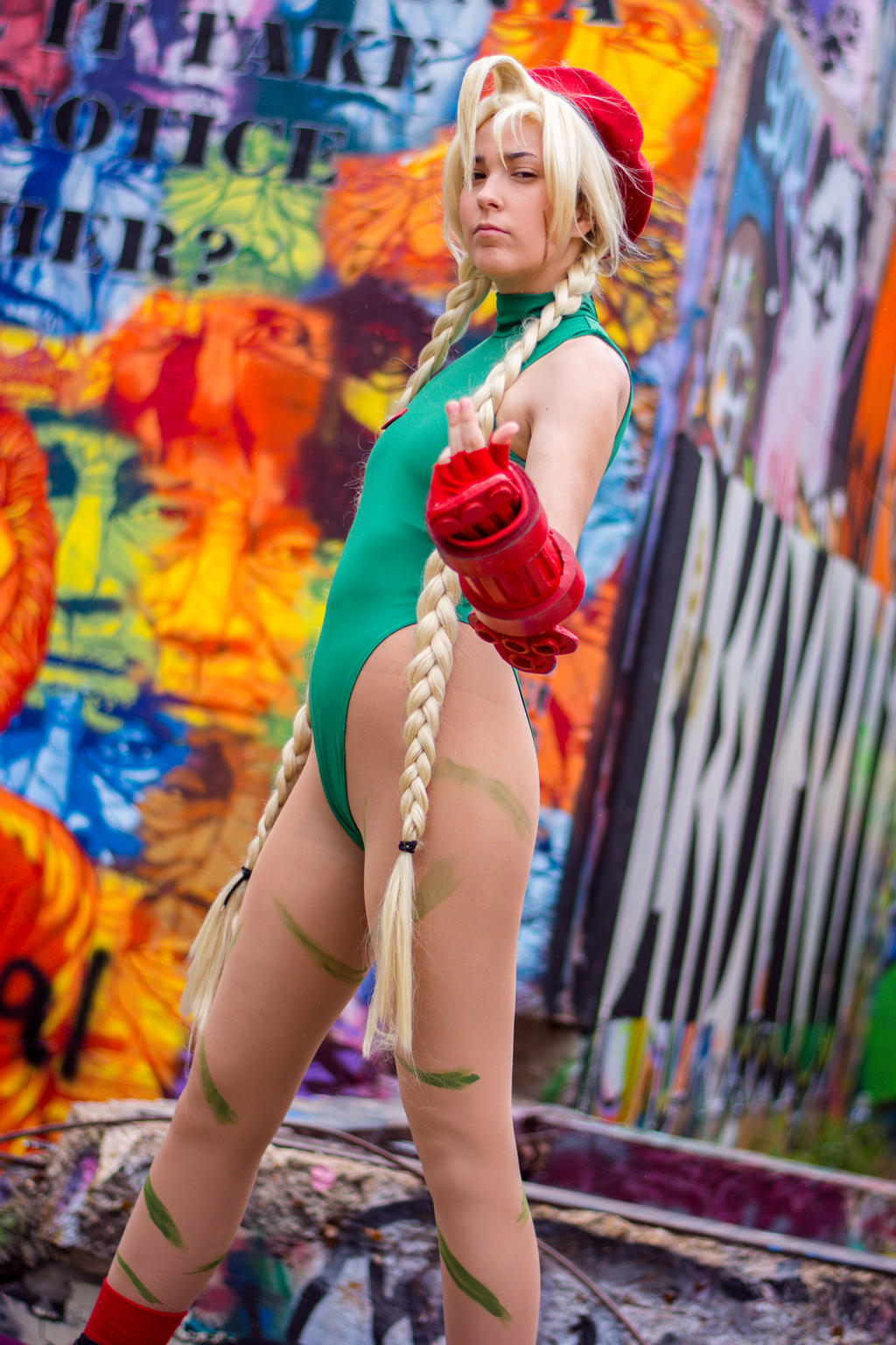 Cammy White-- Come At Me by Miss-Marquin