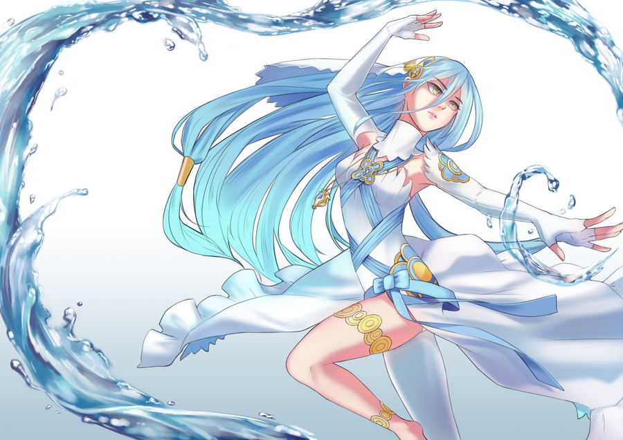 Dancing with the waves by noctnoku