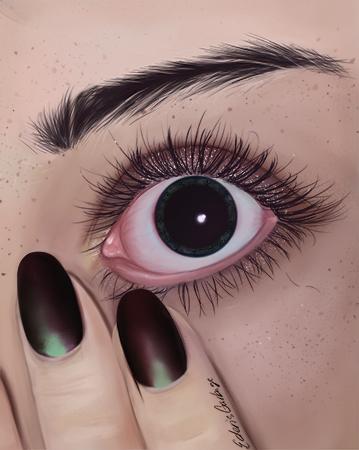 Wide Eyed by EdensGarbage