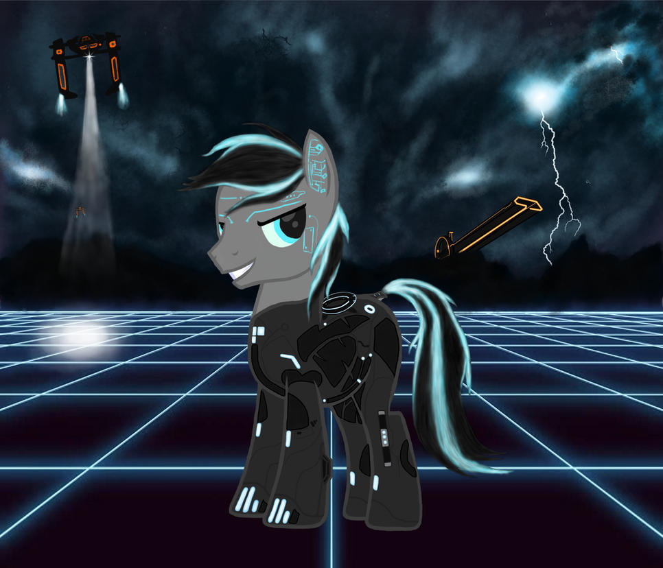 TRON hero of the grid by strange-quark59