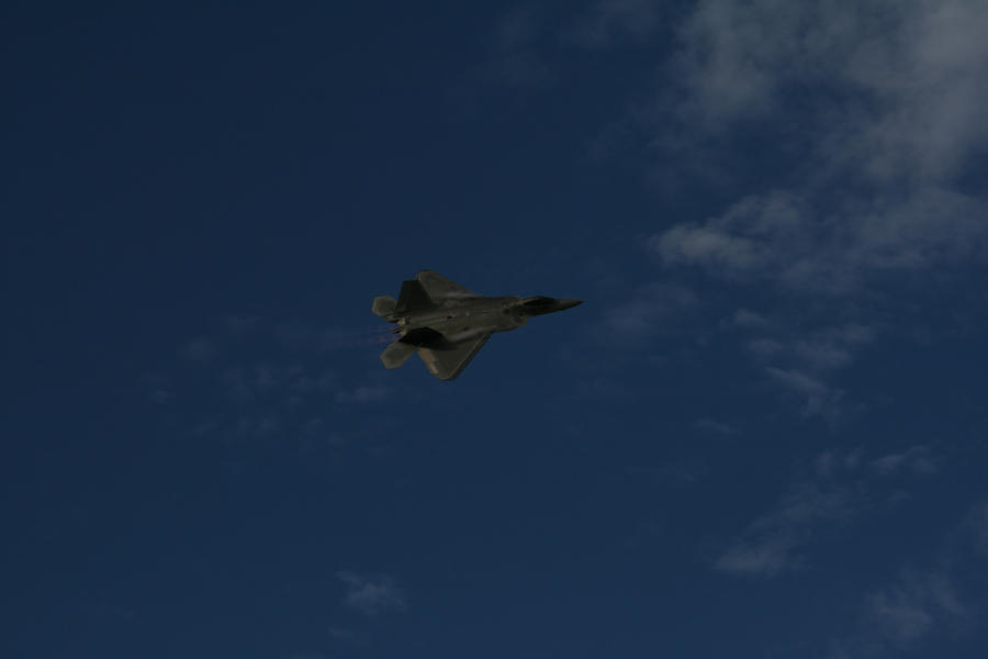 More Blue skies and the F22