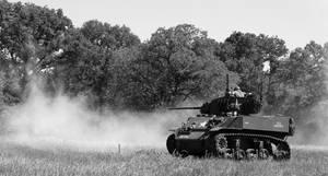 Stuart' Honey'M5 light tank