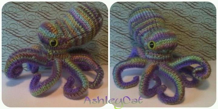 waterlily octopus by Faye-ohki