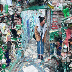 At Philly's Magic Gardens by JeaZheng