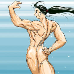 back and biceps by shujisi