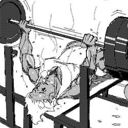 Bench Press by shujisi
