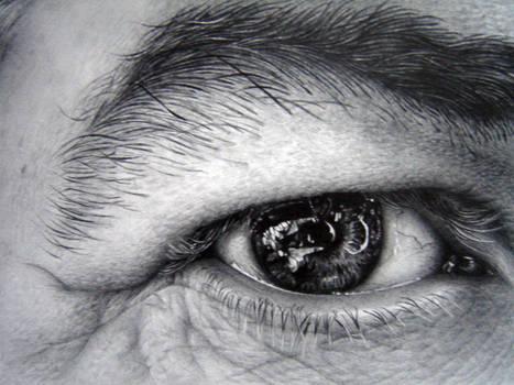 Eye study in pencil 2
