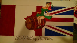 Battle Group: Whiskey Runners pin up