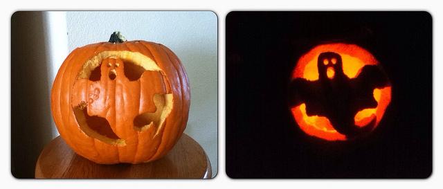Ghost Pumpkin by Butterfly029