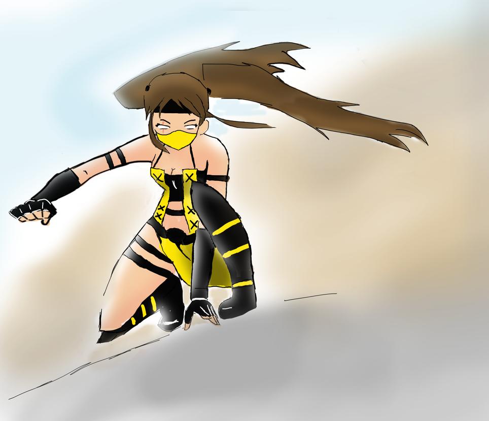 Mortal Kombat oc :Request by HaxGodJet