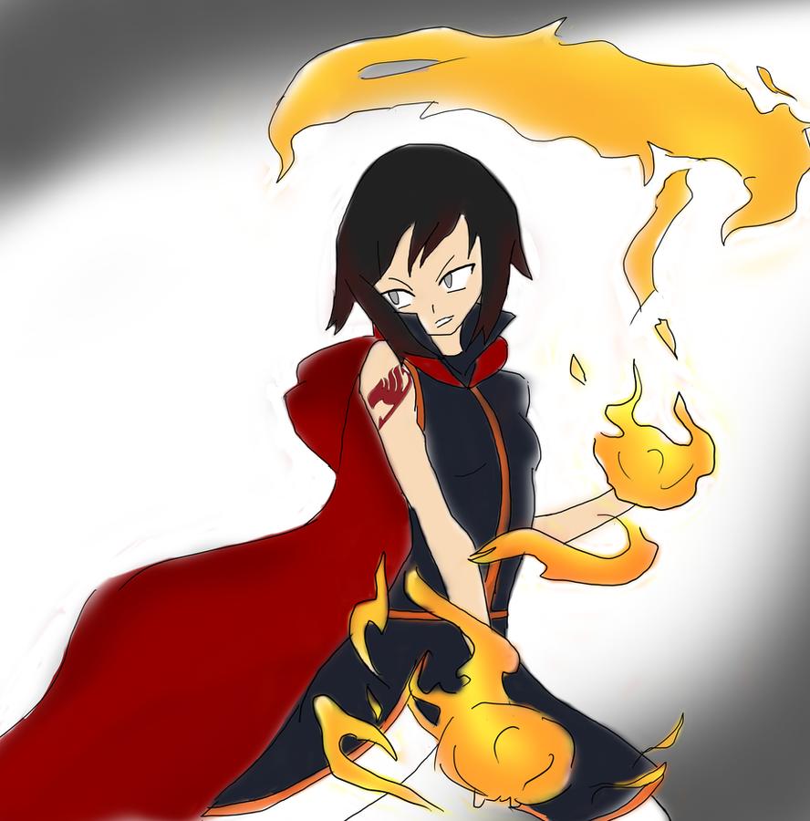 Ruby Natsu crossover by HaxGodJet