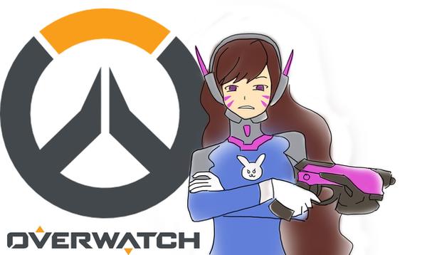 D.Va Overwatch by HaxGodJet