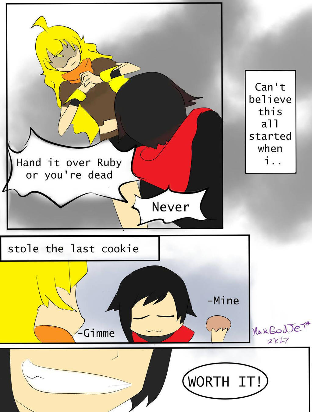 Last cookie request  by HaxGodJet