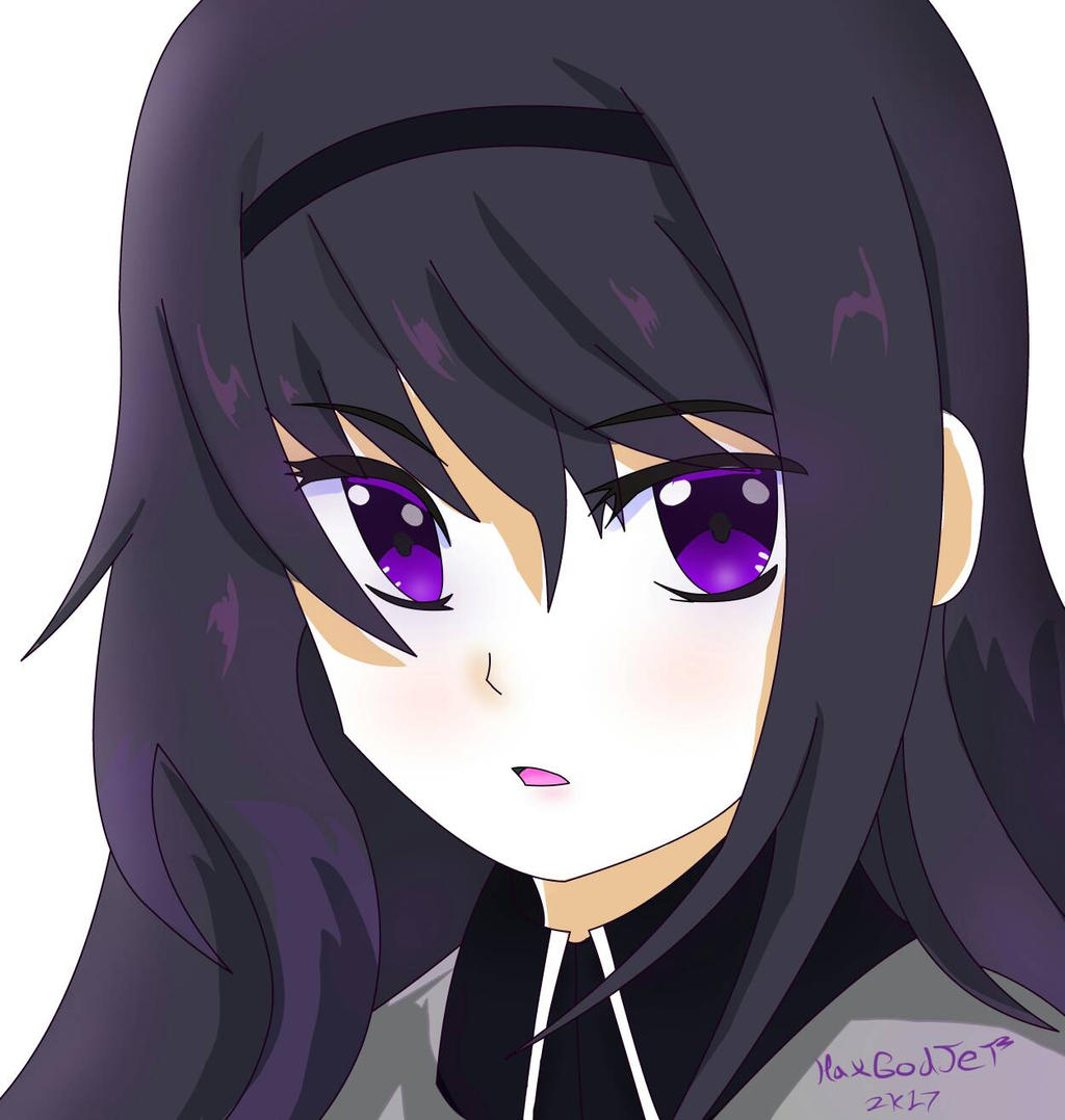 Homura request  by HaxGodJet