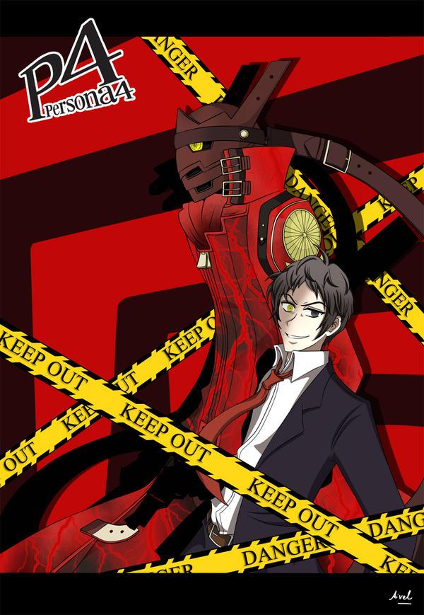 Persona 4 Izanagi Magatsu P4 - Adachi and Magats...