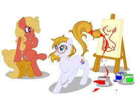 Draw Me! - My Little Pony Request by LaurentChokobita