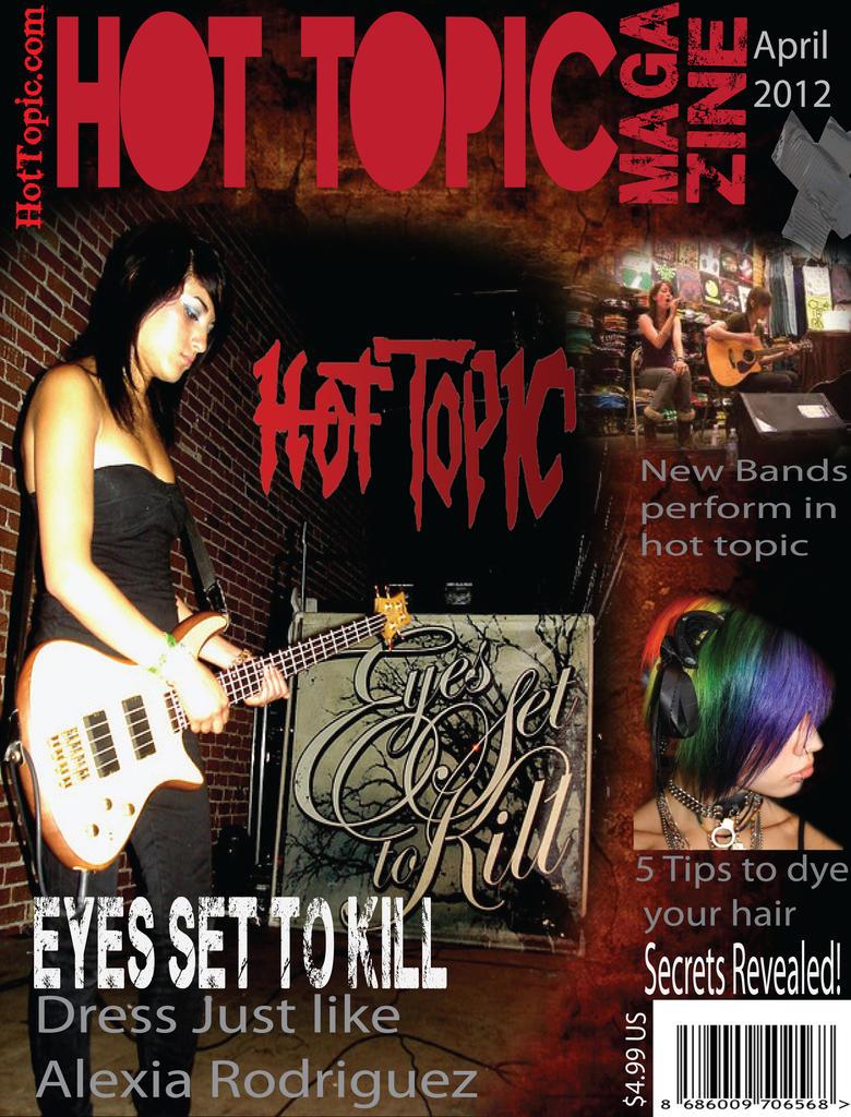 hot topic magazine (fake) by milovedeathnote on DeviantArt