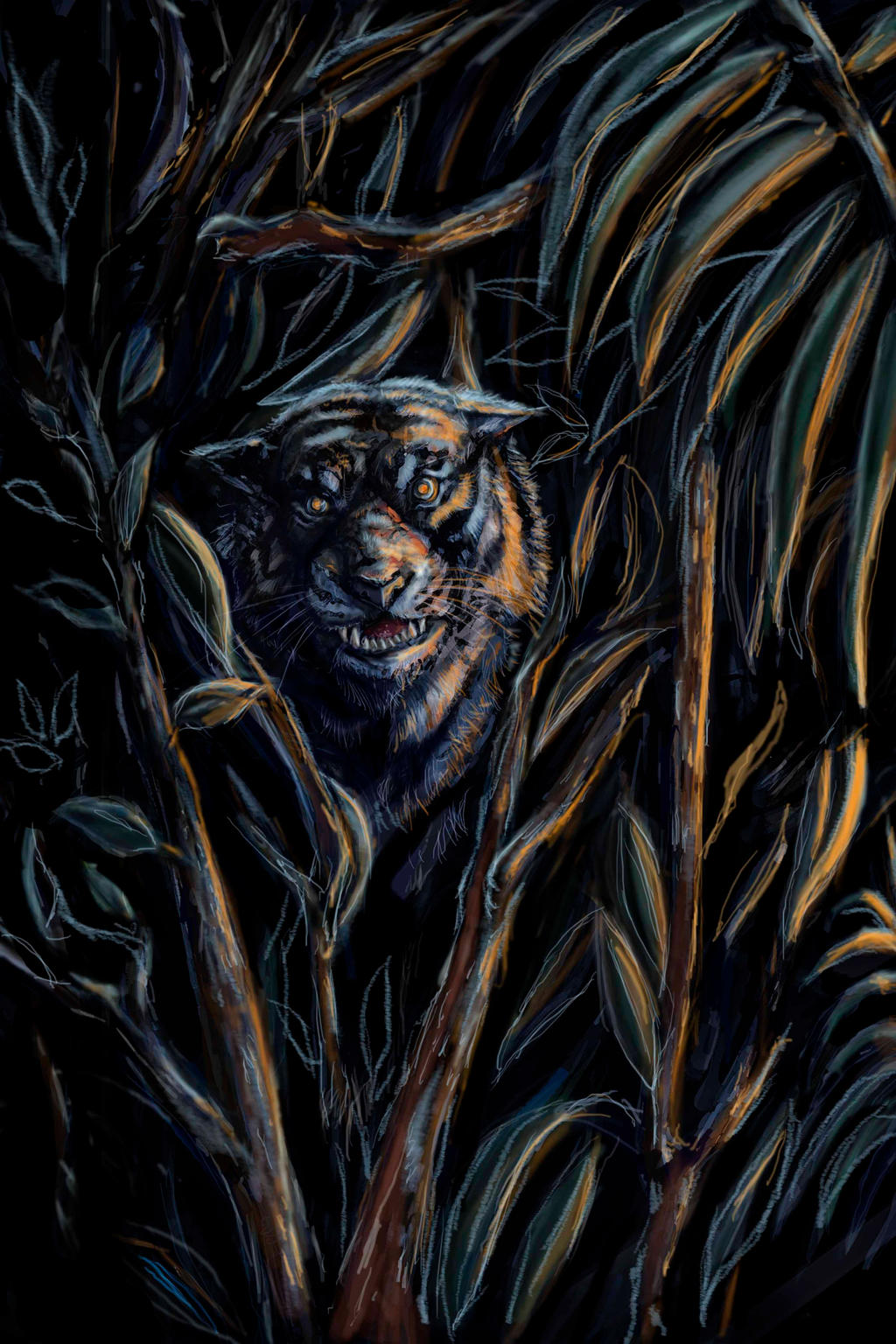 Junglebook back of jacket by Smintz-candy