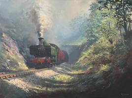 Merthyr Tunnel by Pictonart