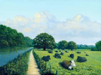 Cattle Near Scours Lane