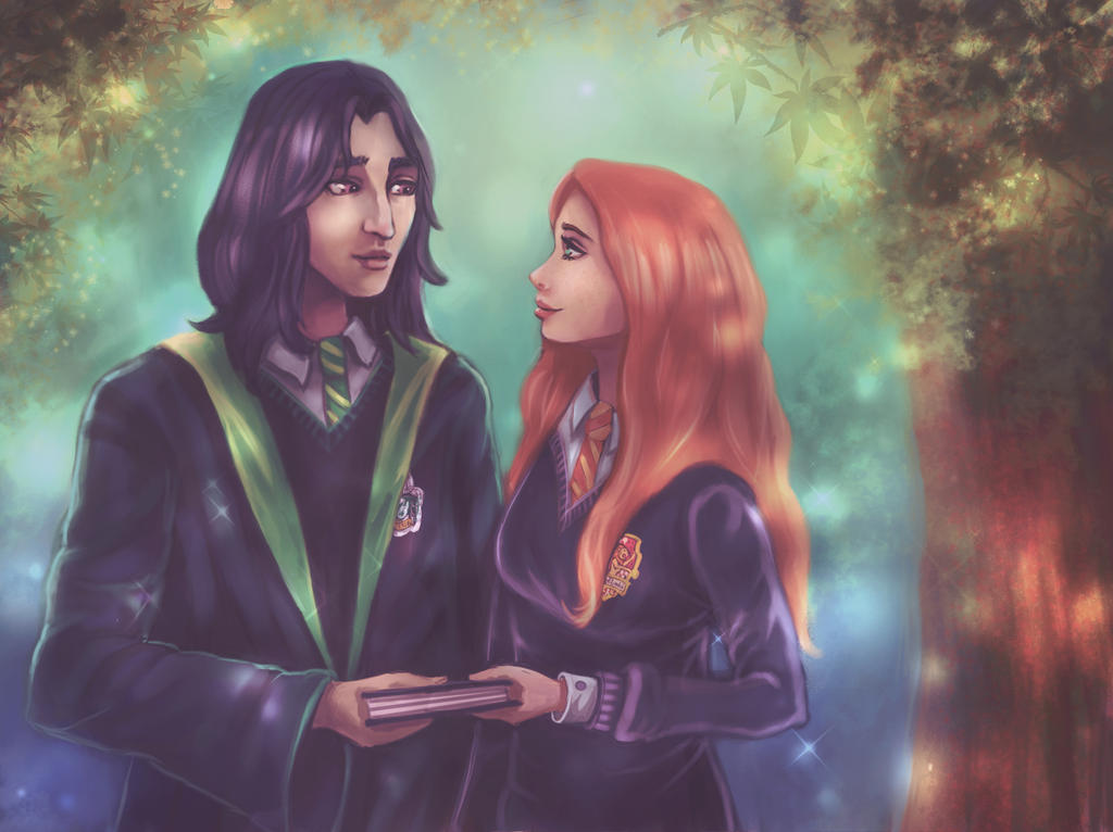 Severus and Lily by nena211