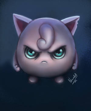 Don't mess with Jiggly! by nena211