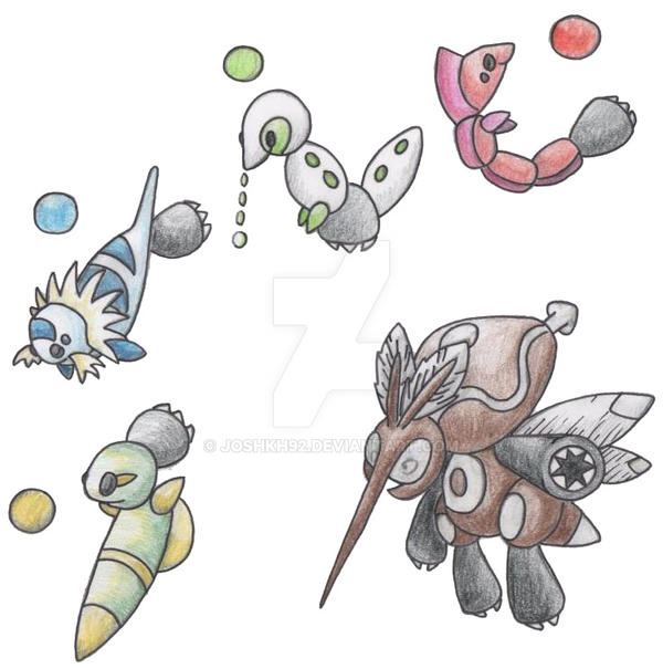Mosquito Pokemon by JoshKH92