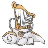 Harp Pokemon by JoshKH92