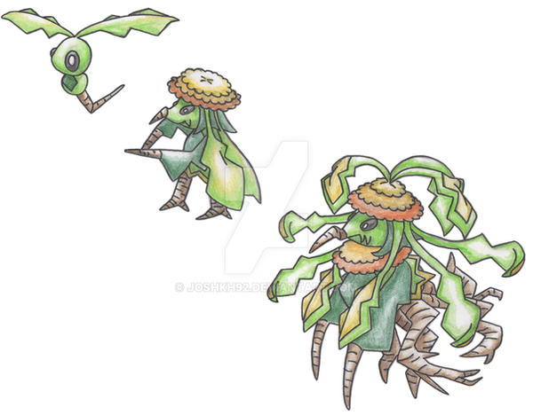 Weed Pokemon By Joshkh92 On Deviantart
