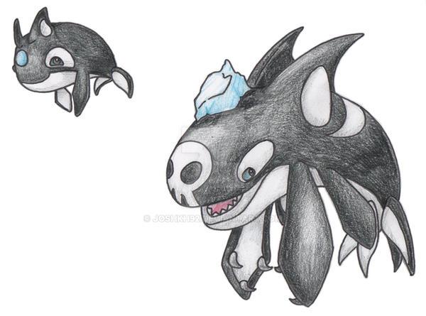 Orca Pokemon by JoshKH92