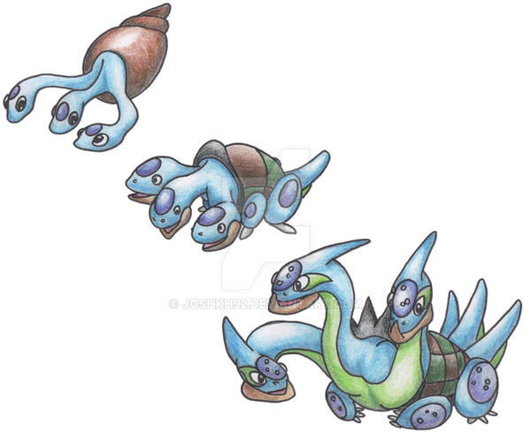 Hydra Pokemon by JoshKH92 on DeviantArt