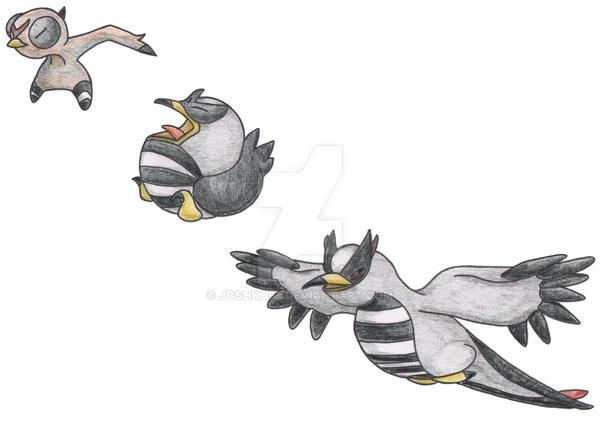 Cuckoo Pokemon by JoshKH92
