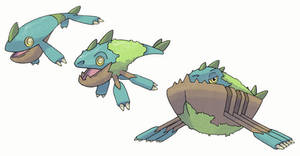 Rowing Pokemon