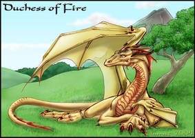Duchess of Fire by mafagafa