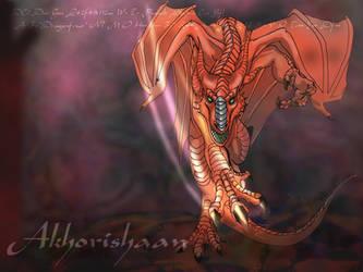 Akhorishaan.the.big.red.dragon by mafagafa