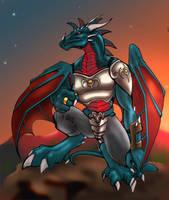 Inuchan.shadow.dragon by mafagafa