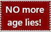 No more age lies!