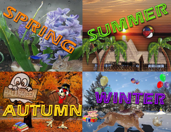 Image result for all 4 seasons