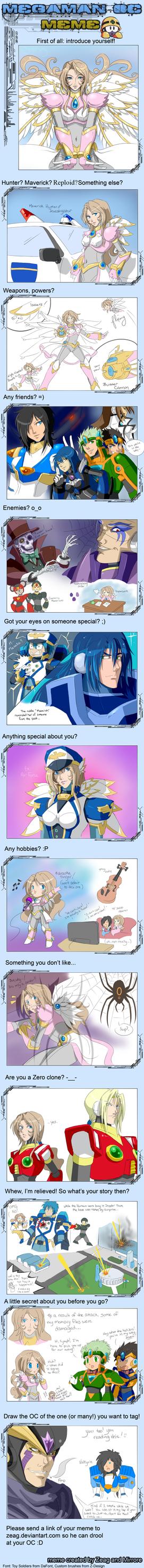 Megaman OC Meme by fortissimo