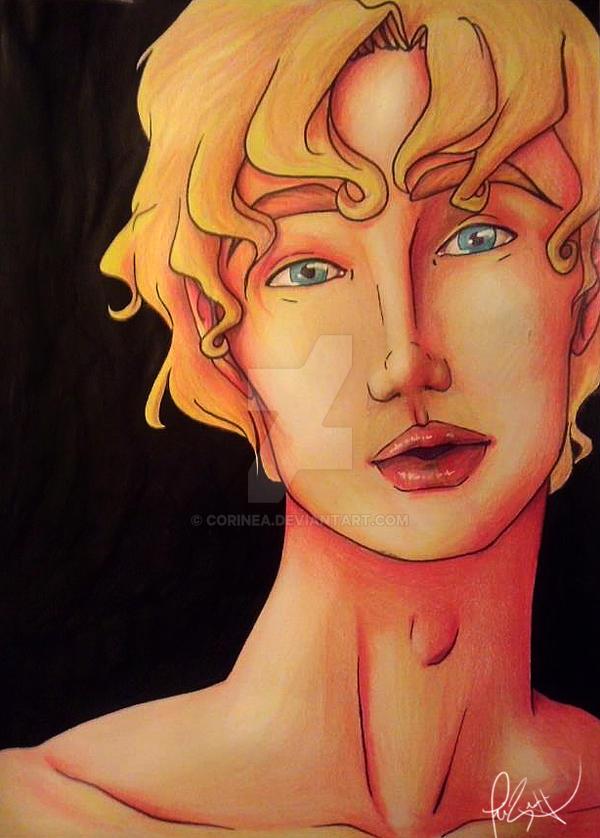Apollo, God of Music by Corinea