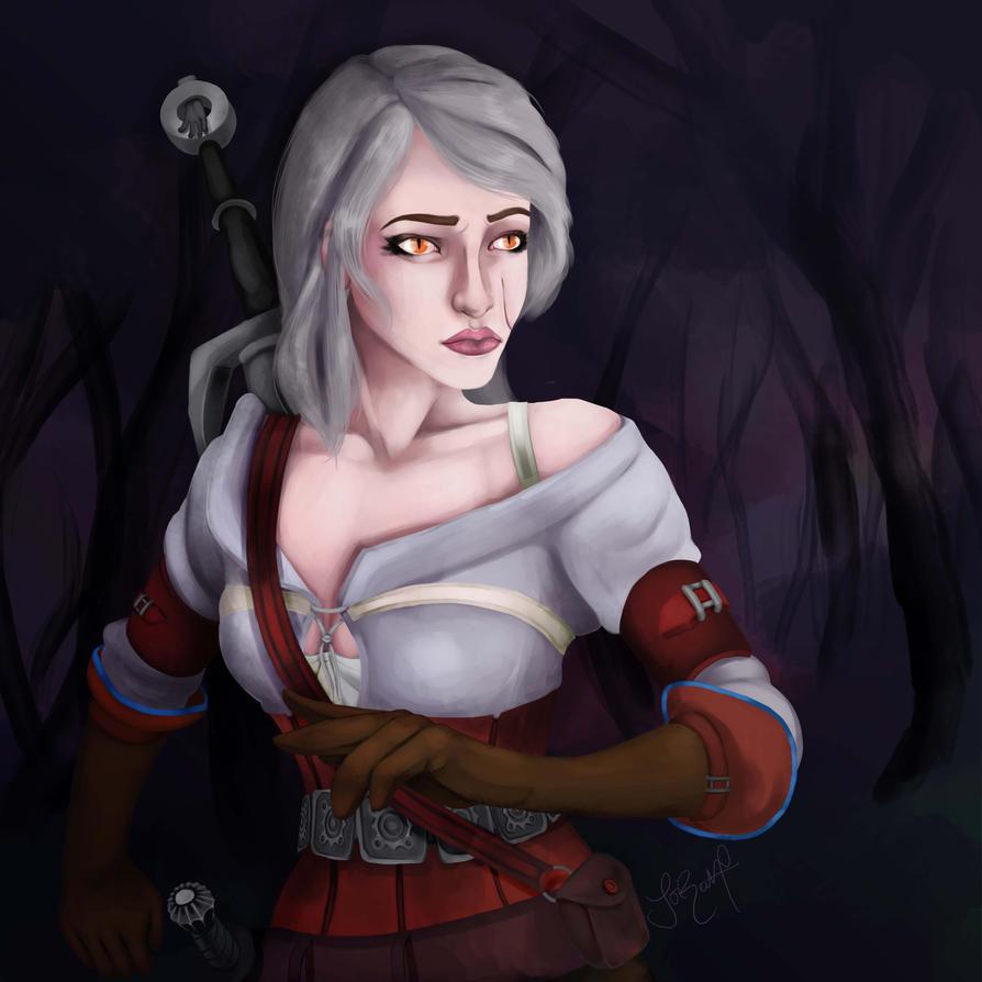 Ciri - Witcher 3 by Corinea