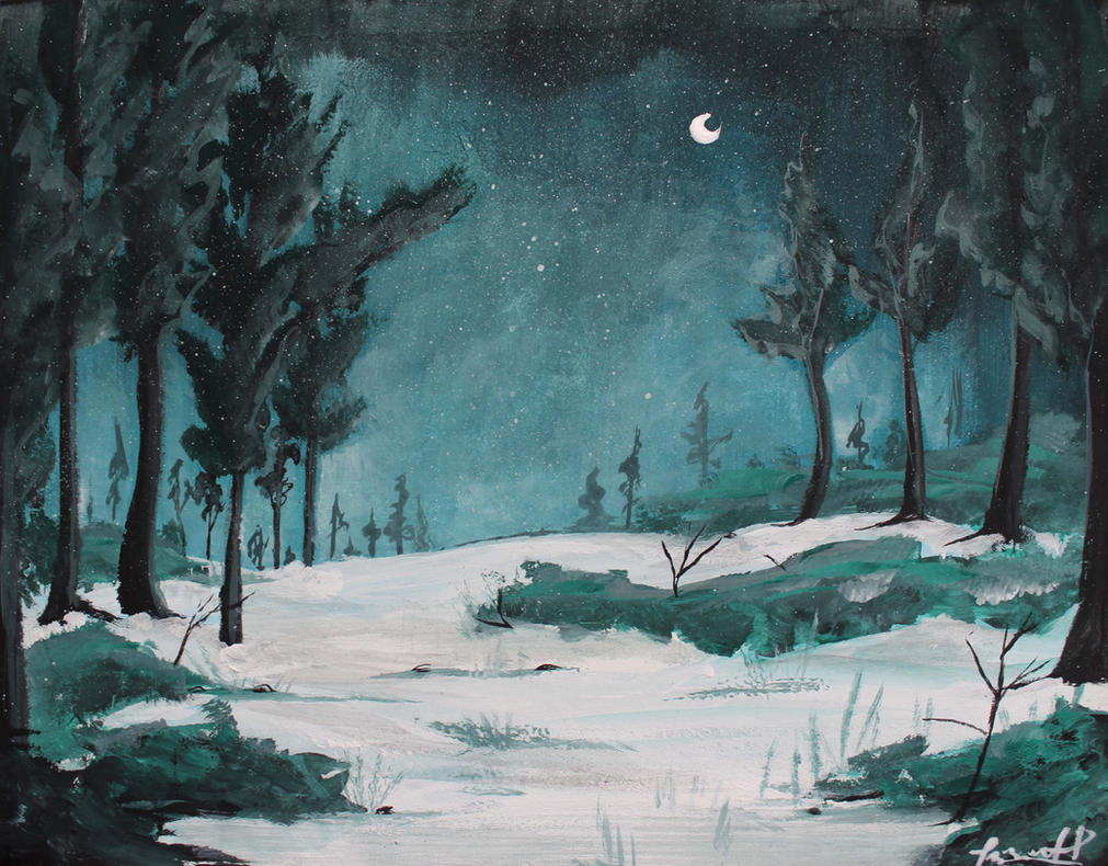 Winter by Corinea