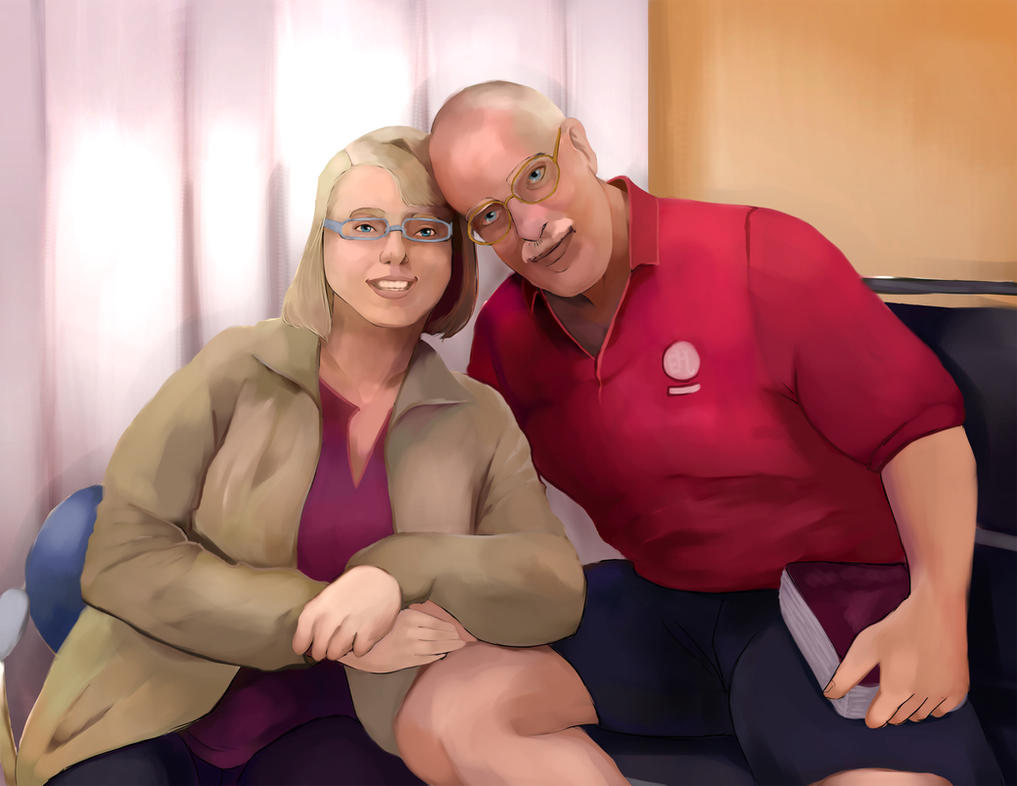 Happy 20th Anniversary Mum and Dad by Corinea