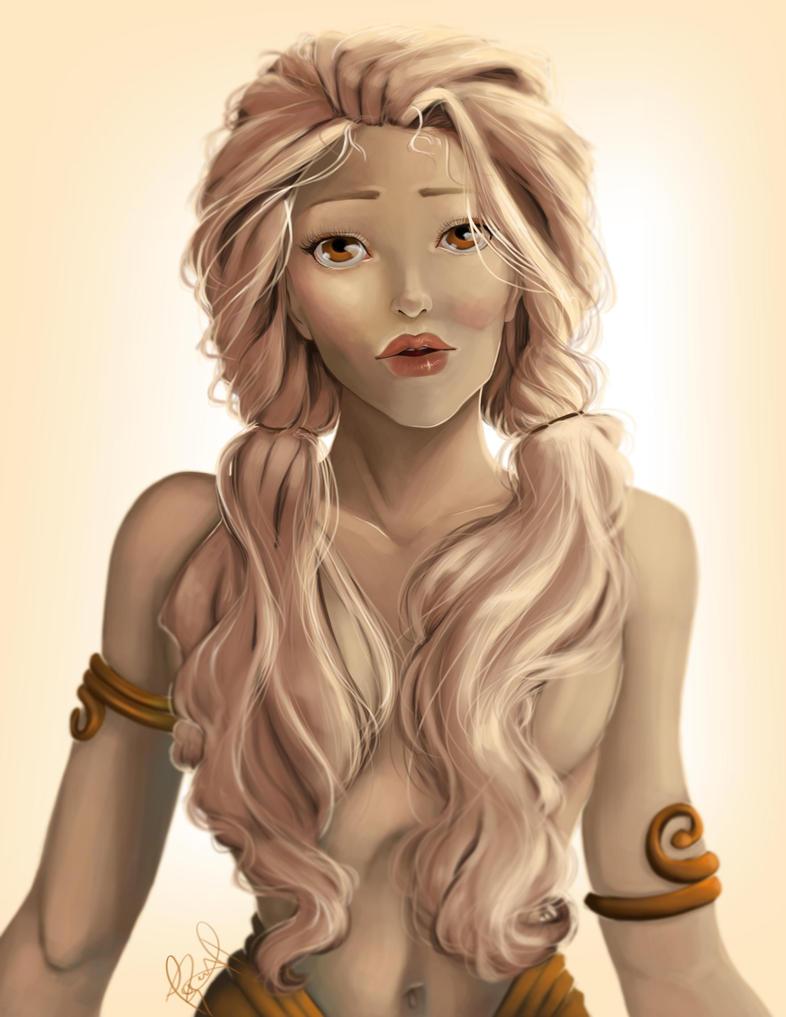 Hair Goals TBH by Corinea