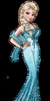 Elsa's prom Dress ( Nina-D-Lux's Contest)