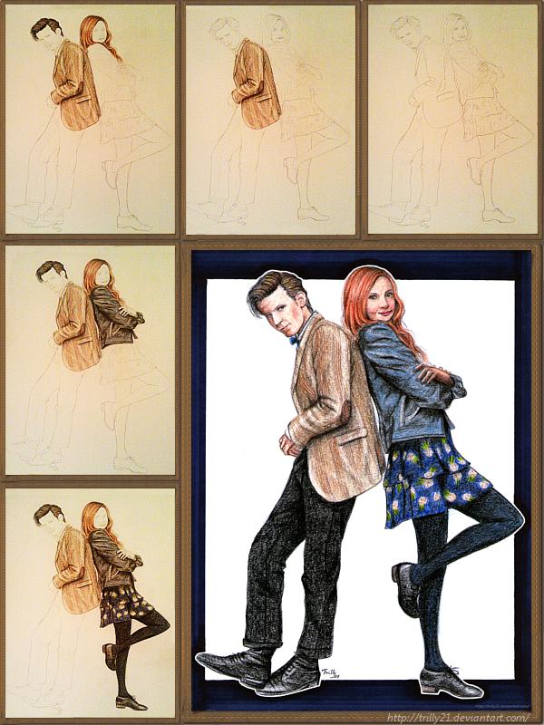 Matt Smith and Karen Gillan - STEPS by Trilly21