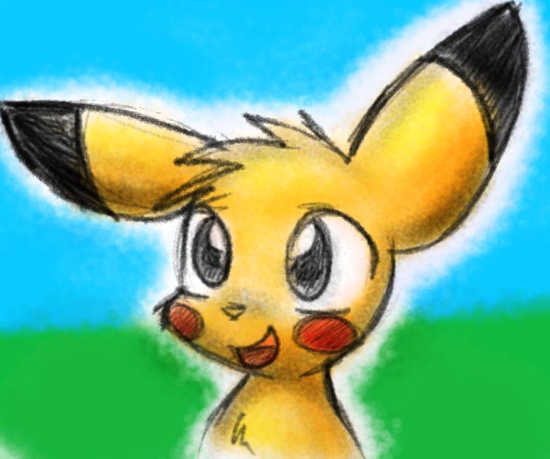 I drew a pikachu. by Zutcha