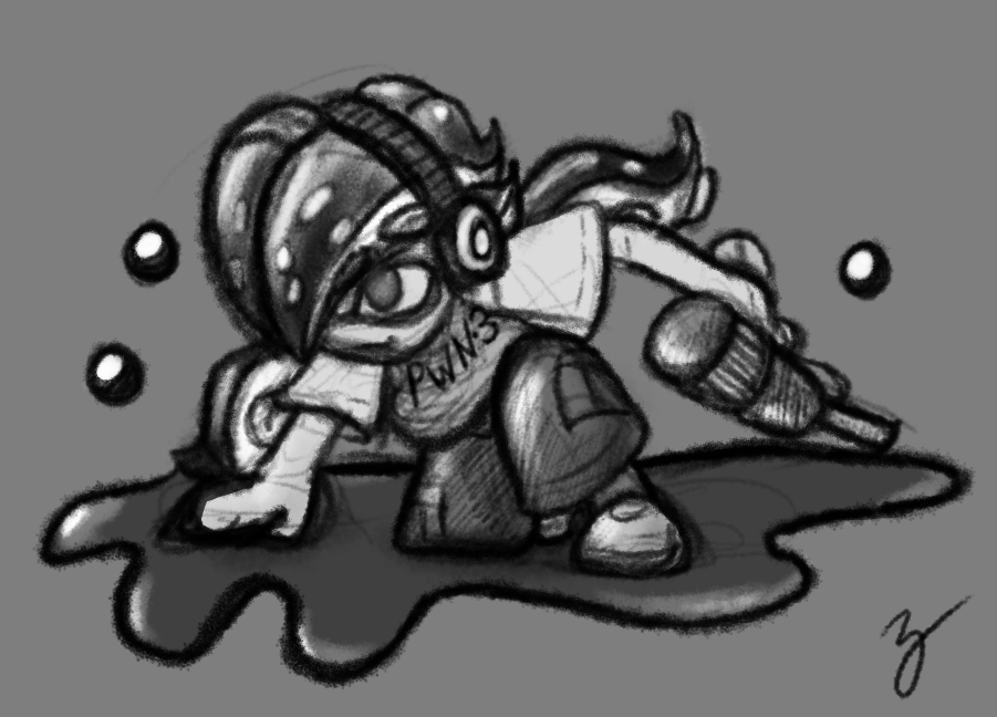 Inkling as an Inkling by Zutcha
